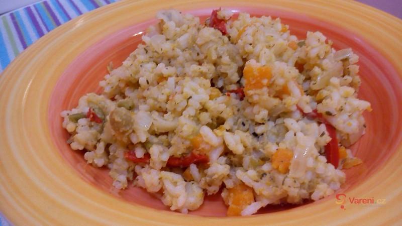 Rychlé zeleninové rizoto