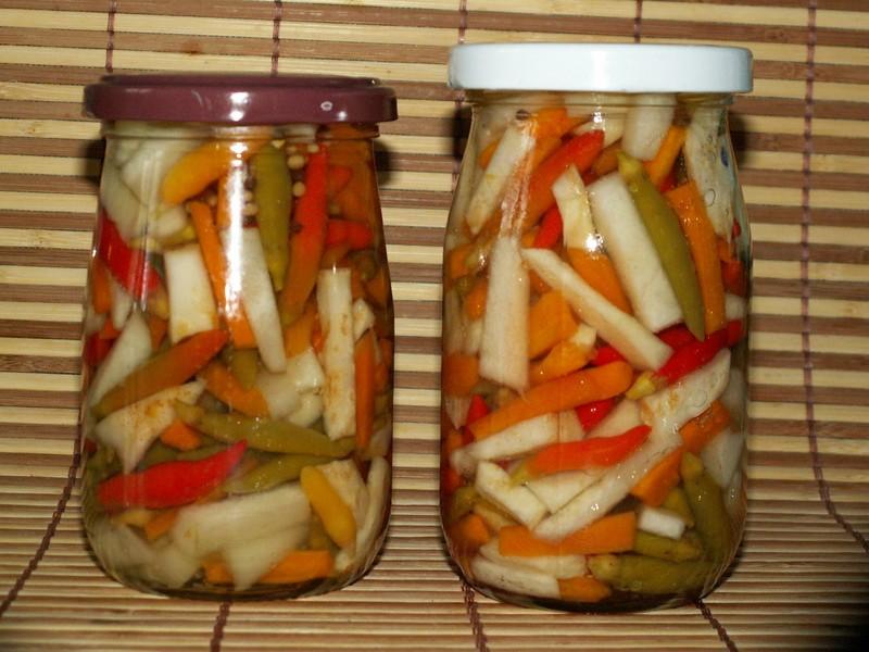 Pikantní zelenina