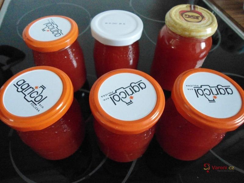 Výborná marmeláda z rajčat