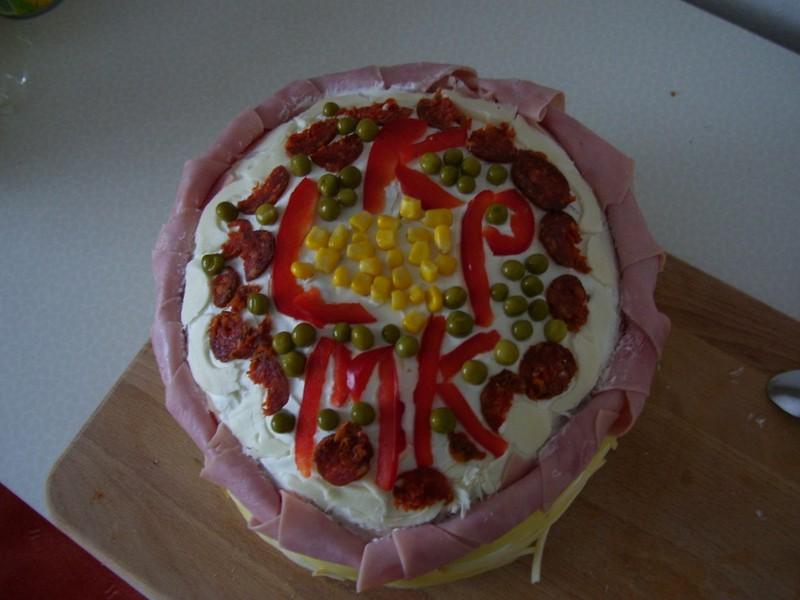 Míšin chlebový dort