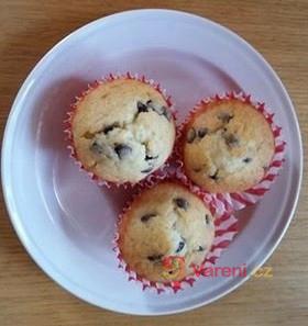 Tvarohové muffiny s čokoládou