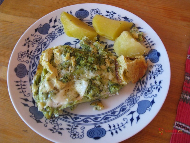 Výborná zapečená brokolice se sýrem
