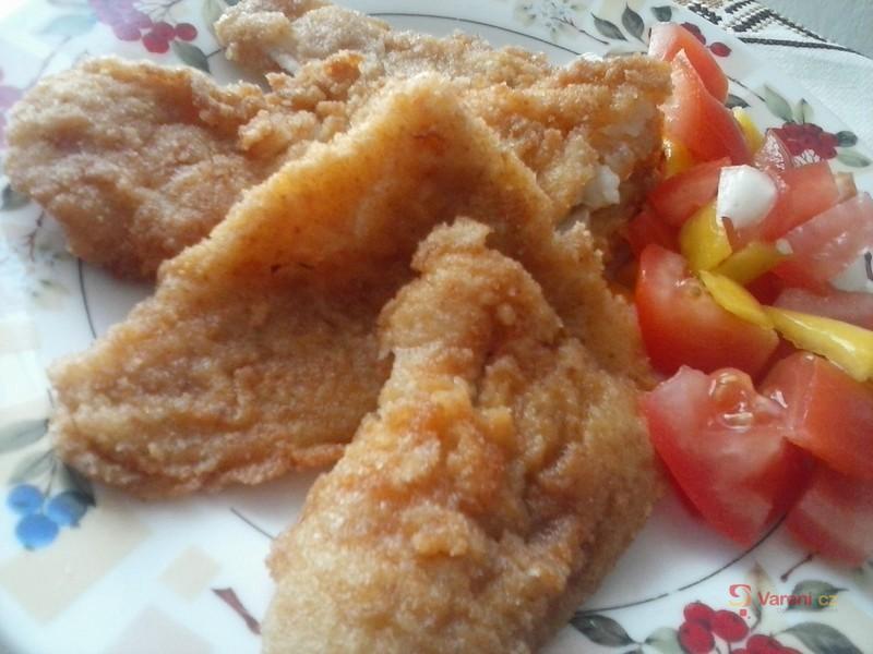 Pečené rybí filé se zázvorem