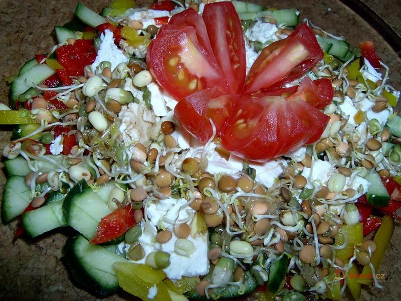 Klíčkový salát