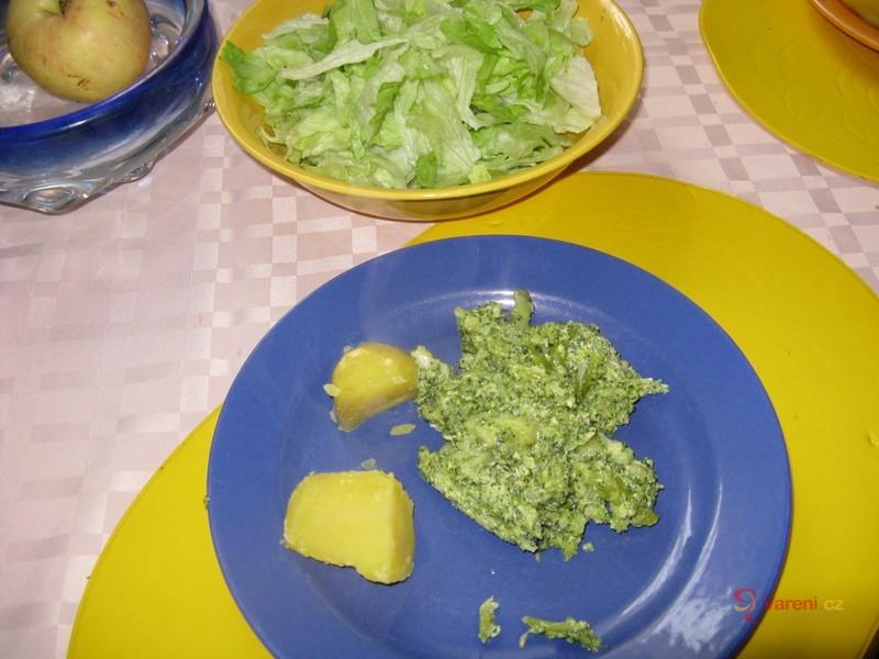 Brokolice jako mozeček