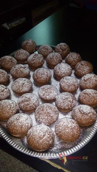 Hrníčkové čokoládové muffiny