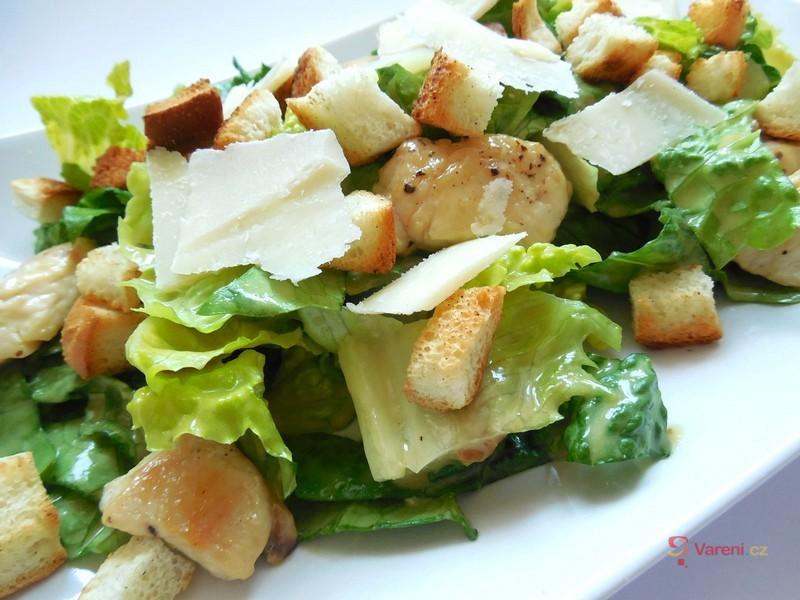 Pravý salát Caesar