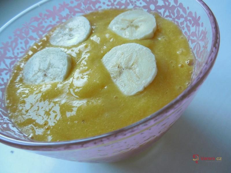 Mango-banánové pyré