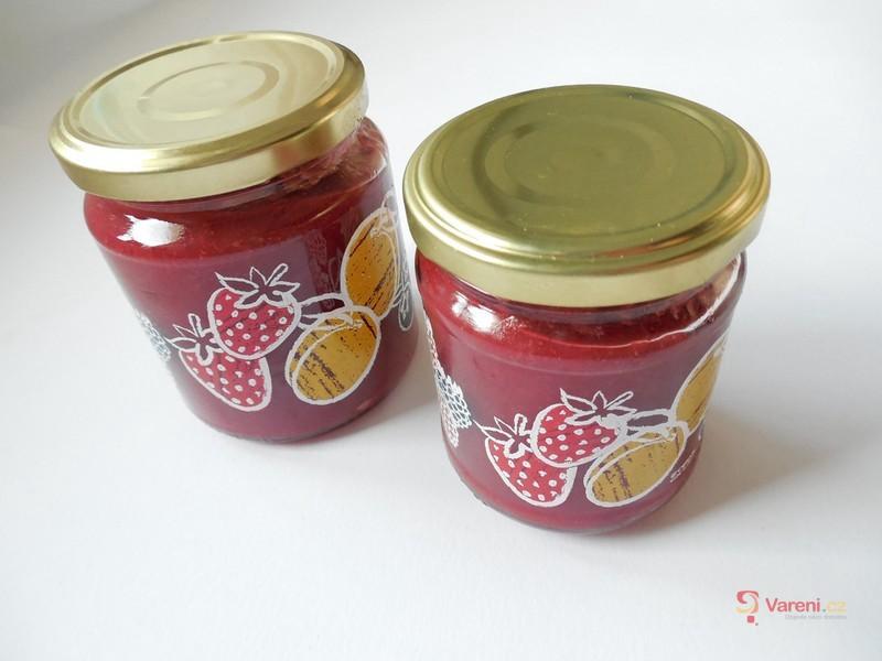Jahodovo-pomerančová marmeláda