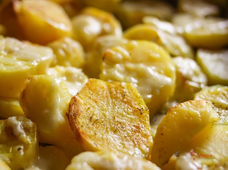 Slavnostní smetanové brambory