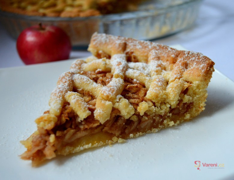Babiččin jablečný mřížkový koláč