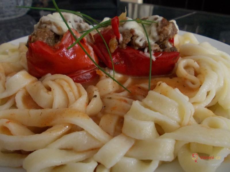 Nadívané papriky po sicilsku