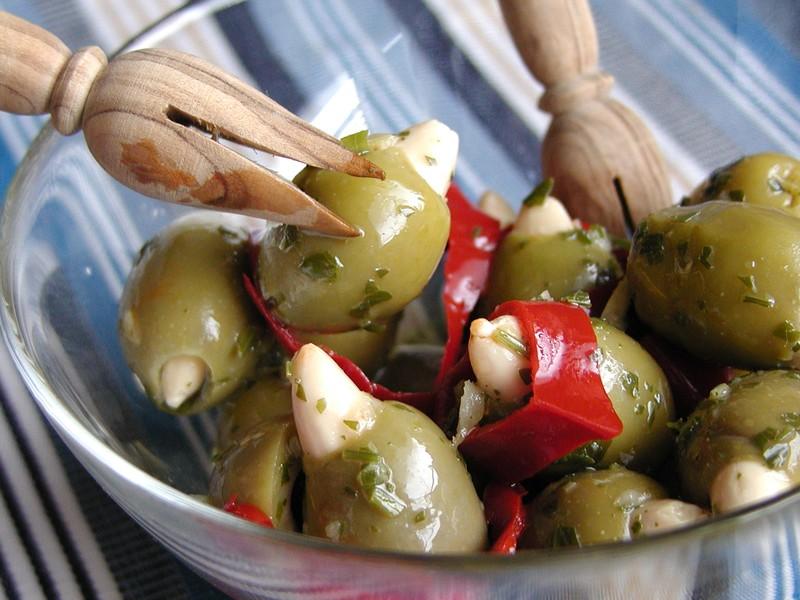 Pikantní olivy
