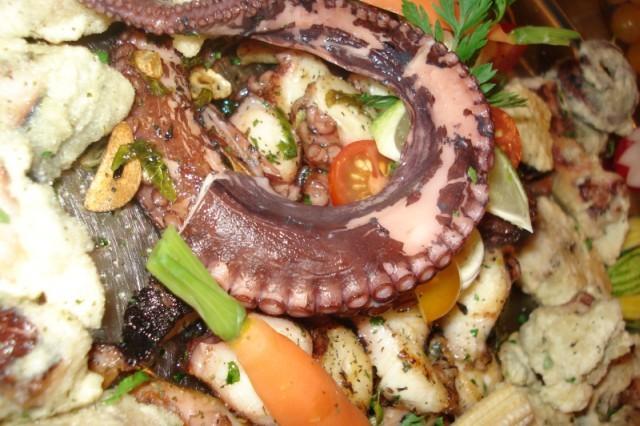 Dušená chobotnice