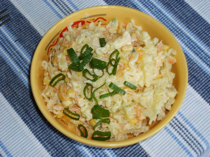 Zeleninový jarní salát