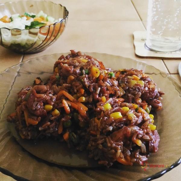 Mexické rizoto z rýže natural
