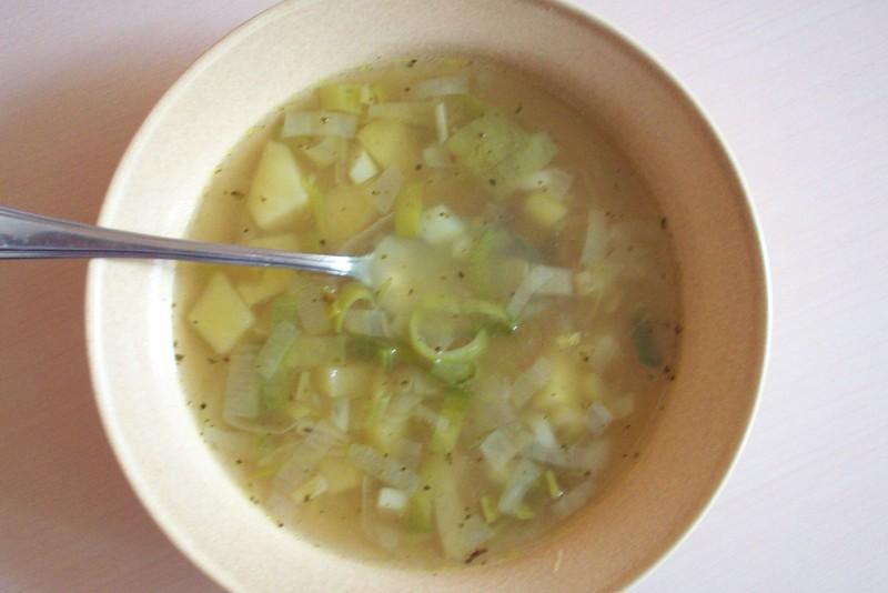 Klasická pórková polévka