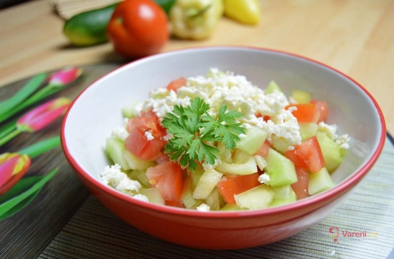 Pravý šopský salát