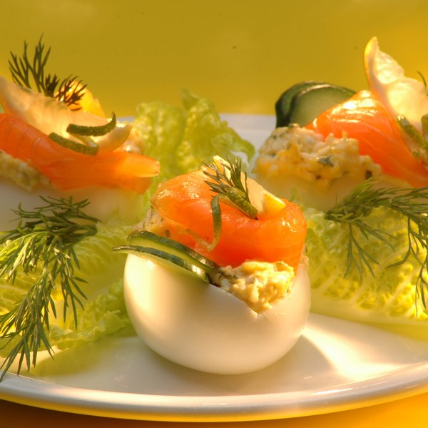 Plněná vejce na babiččin způsob