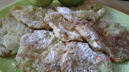 Cuketovo-jablečné placičky se skořicí