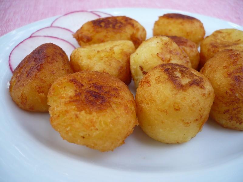 Domácí bramborové kuličky