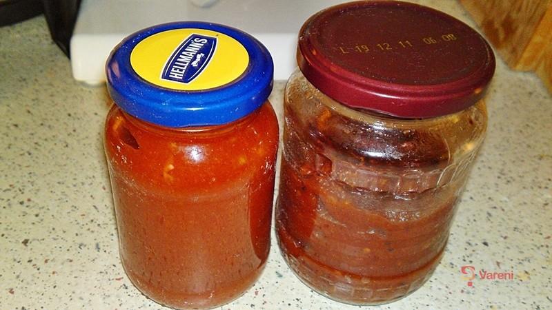 Pikantní domácí kečup