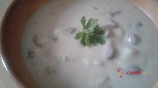 Fazolovo-bramborová polévka na kyselo