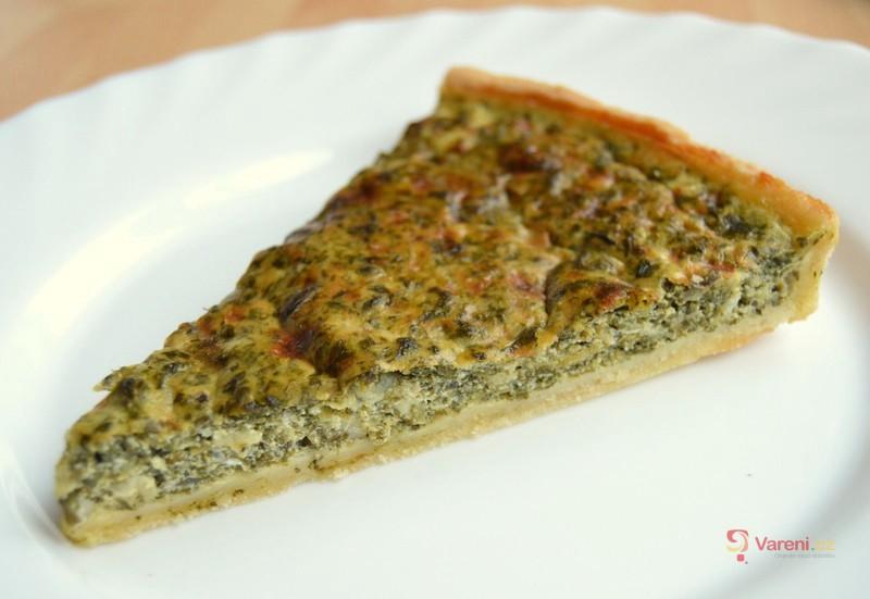 Špenátový koláč s balkánským sýrem