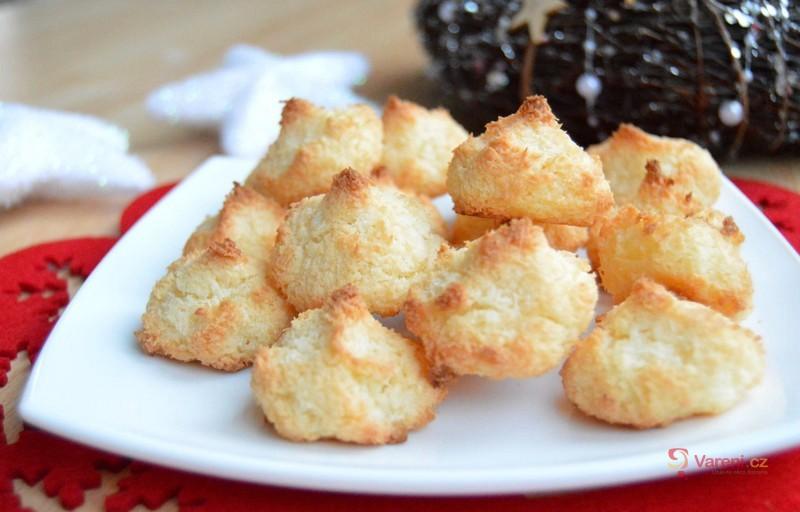 Rychlé a jednoduché vánoční kokosky