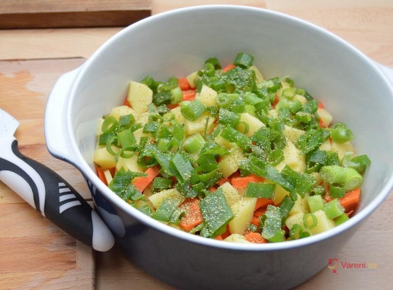 Dušená zelenina z trouby