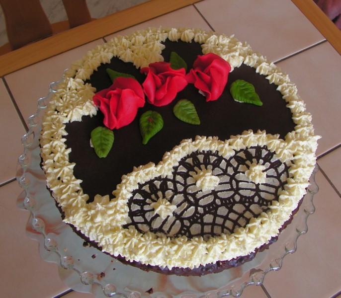 Narozeninový ananasový dort