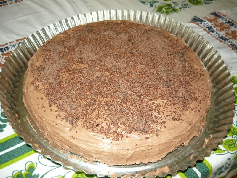 Skvělý čokoládový dort