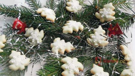 Pistáciové vánoční stromečky