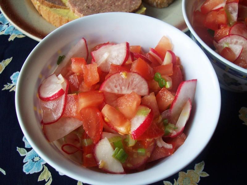 Červený salát