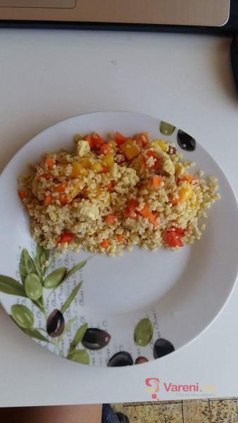 Dietní kuřecí zeleninové rizoto nebo bulguroto