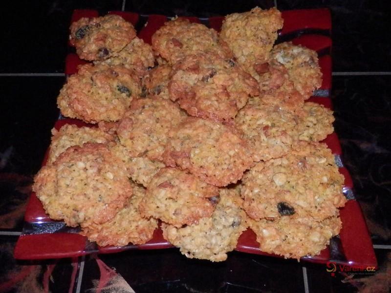 Sladké ovesné sušenky