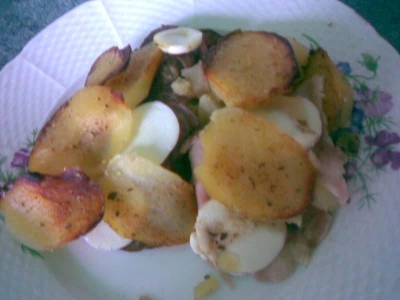 Maminčiny francouzské brambory