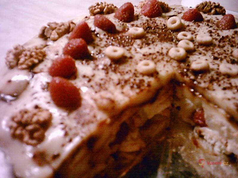 Rychlý pudinkový dort