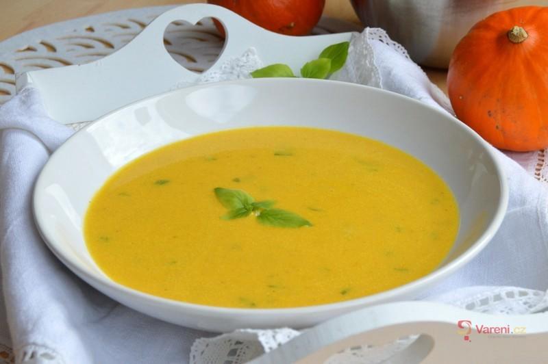 Zeleninová krémová polévka s dýní