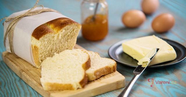 Křupavý toustový chléb