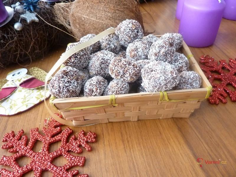 Rumové kokosové kuličky