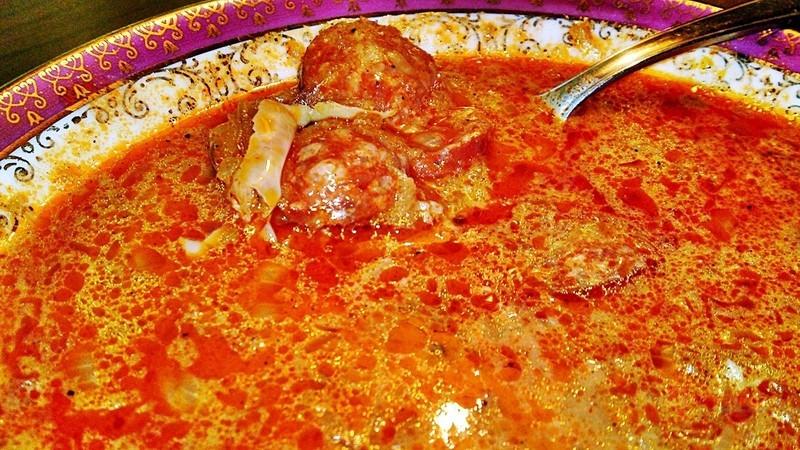 Korhelyleves - opilecká polévka