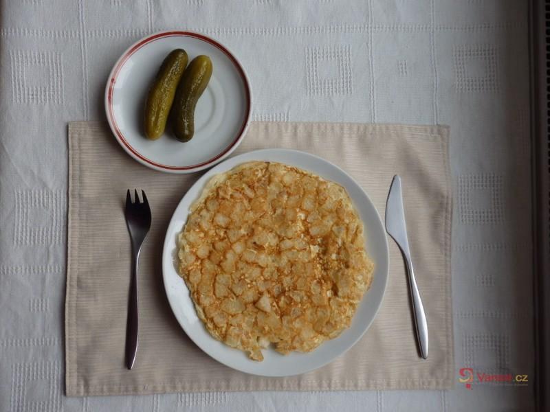 Vaječná knedlíková omeleta