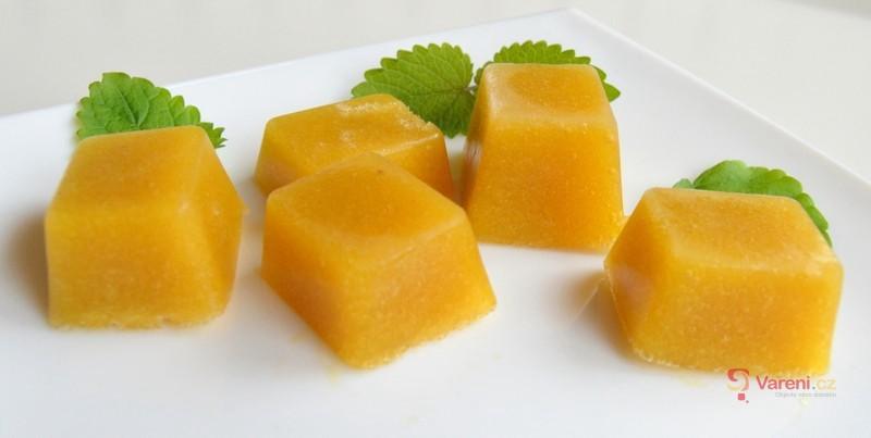 Mango ledové kostky