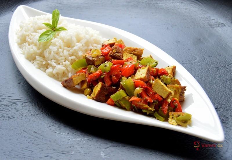 Tofu se zeleninou na kari