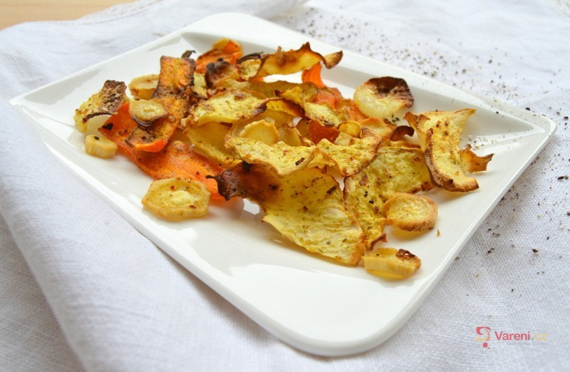 Domácí zeleninové chipsy