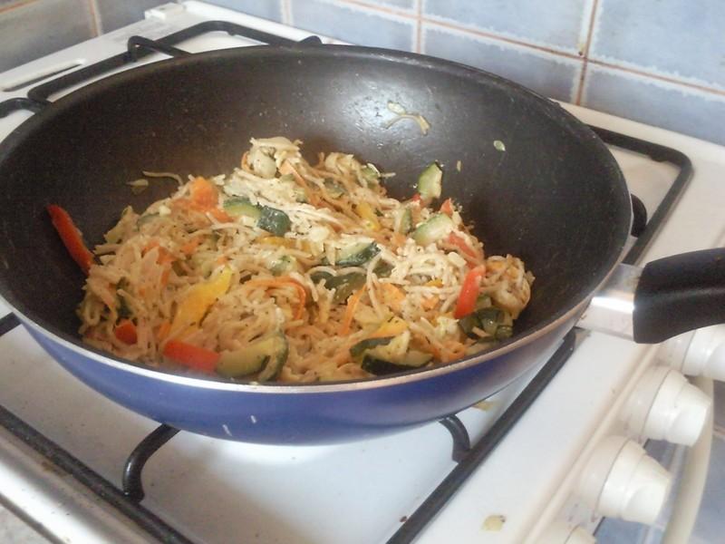 Cuketové špagety