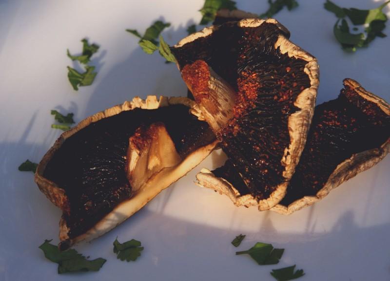 Portobello na grilu