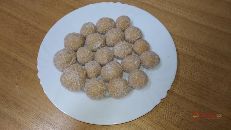 Vánoční kuličky ala kokosový suk