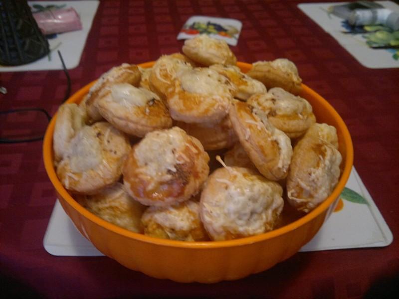 Koláčky ze sýrového těsta